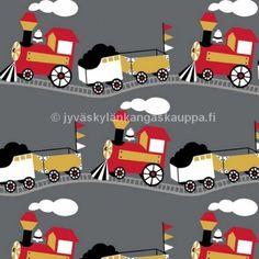 https://www.jyvaskylankangaskauppa.fi/trikoo-kangas-retro-train-harmaa