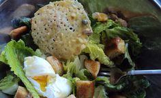 Traditional Caeser salad