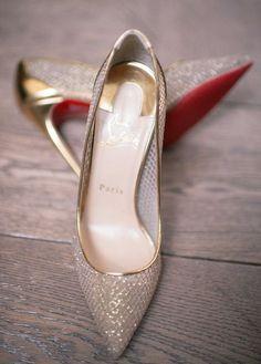 Wedding shoes idea; Featured Photographer: Eli Turner Studios