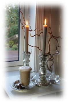 Candles in the window...