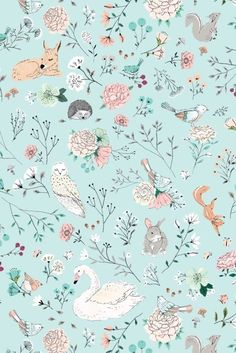 ideas baby wallpaper pattern animal prints for 2019 Baby Wallpaper, Forest Wallpaper Iphone, Tier Wallpaper, Animal Wallpaper, Disney Wallpaper, Flower Wallpaper, Pattern Wallpaper, Camping Wallpaper, Cute Wallpaper Backgrounds