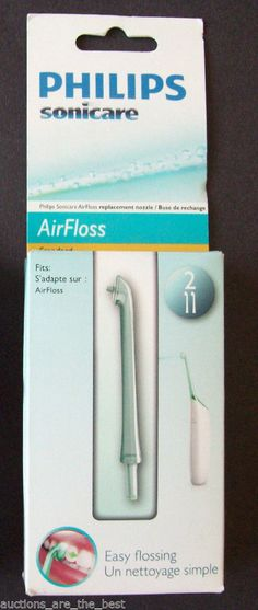 Philips Sonicare Standard Airfloss Replacement Nozzles HX8002 NEW FREE SHIPPING