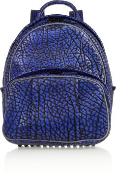 Alexander Wang | Dumbo textured-leather backpack | NET-A-PORTER.COM
