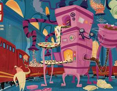 """Check out this @Behance project: """"Candy Factory"""" https://www.behance.net/gallery/6829173/Candy-Factory"""
