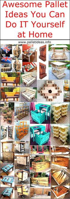 Pallets are good to be reused because they are easily available and the cost is also low, they look amazing when they are not painted. So when they are chosen to reshape, they give a neat looking and impressive furniture and decorative pieces. Those who decide to adorn their home with the handmade items are wise because they know that they can save a huge amount of money by creating the adorable products and they can make their home look different from the usual homes with same look with the…