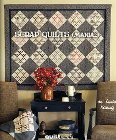 Scrap Quilts (Mania...) - Quilt et Patchwork - Livres & Journaux - Casa Cenina