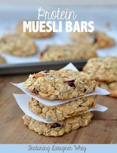 Protein Muesli Bars!