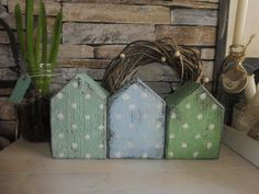 #cottages #wooden - #Genel - - #Wooden #Cottages #with Wooden Cottages with dots - Wood Craft Patterns, Wood Block Crafts, Wooden Crafts, Wooden Diy, Wood Blocks, Wood Projects, Diy Crafts, Diy Wood Signs, Rustic Wood Signs