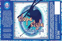 mybeerbuzz.com - Bringing Good Beers & Good People Together...: Boulder Releases Slope Style Winter IPA & Scourge ...