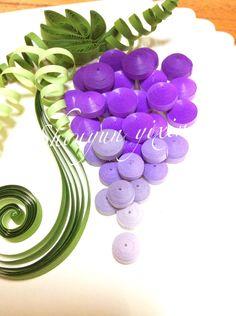Quilling grape