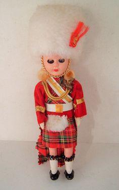 Dolls From Around the World Vintage Scottish by spankyluvsvintage