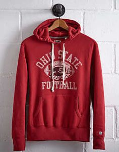 Tailgate Men's Ohio State Popover Hoodie - Free Returns