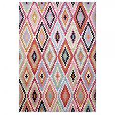 tapis fresh kilim rose esprit home                                                                                                                                                                                 Plus