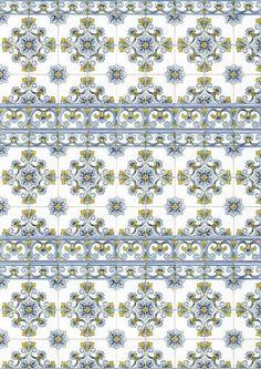 miniature printable wall tiles
