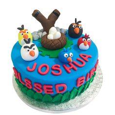 Výsledek obrázku pro blue angry birds cake