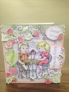 Heartfelt creations BerryCafe collection, By Clare Hodgson