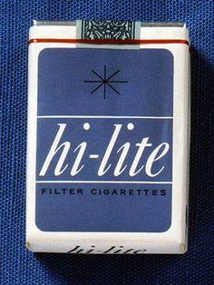 昭和35年発売された「ハイライト」。デザインは和田誠 Vintage Cigarette Ads, Cigarette Brands, Vintage Ads, Vintage Photos, Ad Photography, Underwater Photography, Vintage Photography, Label Design, Box Design