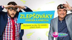 Junior s Marcelom začali testovať zlepšováky! Sledeujte prvý - http://www.funradio.sk/novinky/27528-zlepsovak-pre-vsetkych-tatinov/