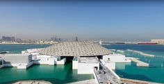 World Architecture Community News - Jean Nouvel's Louvre Abu Dhabi featuring giant geometric-patterned dome set to open on November 11 Jean Nouvel, Abu Dhabi, Louvre, Architecture, World, Building, Outdoor Decor, Travel, November