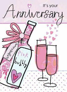 Happy Anniversary Wedding Anniversary Quotes, Best Anniversary Gifts, Marriage Anniversary, Wedding Quotes, Anniversary Cards, Wedding Cards, Birthday Wishes, Birthday Cards, Happy Birthday