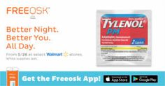 FREE Tylenol PM Sample at Walmart - http://freebiefresh.com/free-tylenol-pm-sample-at-walmart/