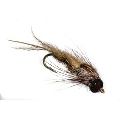 A next generation mayfly pattern enhanced with the Evolution Mayfly Swimmer & Burrower beadhead. Imitates most gilled swimming nymphs. Tied with the new Nymph-Head® Evolution™ Mayfly Swimmer & Burrowe