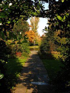 Eltham Palace in Autumn