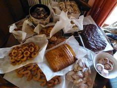 Biscotti di vari tipi. Spirito natalizio