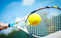 Photo about Tennis player playing a match with green ball. Image of green, ball, adult - 56305183 Atp Tennis, Tennis Clubs, Tennis Players, Tennis Workout, Andy Murray, Roger Federer, Serena Williams, Ideas, Crocodiles