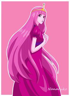 Princess Bubblegum - Adventure Time by Nanaruko.deviantart.com on @deviantART