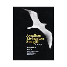 Jonathan Livingston Seagull...a kind unknown man bought this for my son this week. Love when I meet good kind people.