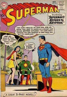1960-11 - Superman Volume 1 - #141 - Superman's Return to Krypton! #SupermanComics #DCComics #SupermanFan #Superman #ComicBooks