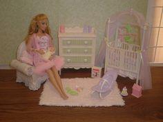 Barbie nursery by Missypants, via Flickr