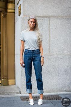 New York Fashion Week SS 2016 Street Style  Sarah Harris f441f430efb7