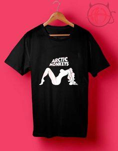 Arctic Monkeys Lady Rock n Roll T Shirt //Price: $14.50