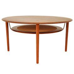 Side Table by Peter Hvidt & Orla Mølgaard, Denmark, 1960