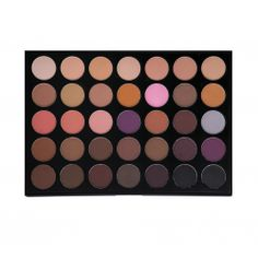 Morphe Brushes 35 Color Matte Palette - Lidschatten-Palette mit 35 matten warmen…