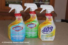 Clorox Smart Tube Technology  Get every last drop of cleaner with new Clorox Smart Tube Technology! #sprayeverydrop #ad