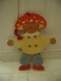 Hampelmann Clown NEU Erzgebirge Mobile Spielzeug Ziehfigur Schwingfigur Holz