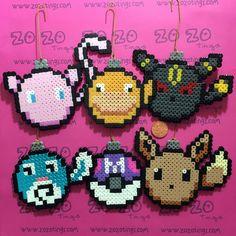 Zo Zo Tings - Pokemon Set 2 Christmas Pixel Baubles