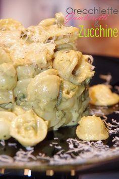 Orecchiette zucchine e gamberi