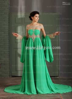 Cool Designer evening gowns with sleeves 2017-2018 Check more at http://24myfashion.com/2016/designer-evening-gowns-with-sleeves-2016-2017/