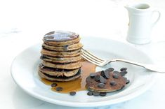 Banana Chocolate Chip Pancakes • Elana's Pantry. Tried these today and they are the best Paleo pancake recipe I've found! I added a tad of cinnamon to cut the cashew flavor.