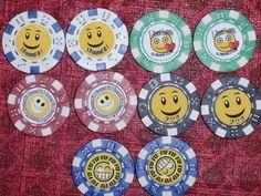 Geocaching GEO-SWAG Poker-chip 10pc you choose style | eBay