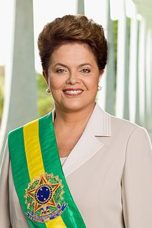 Dilma Rousseff  The 36th President of Brazil  The FIRST female president!