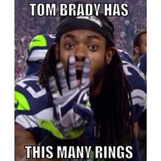 Well at least we know Richard Sherman can count lol