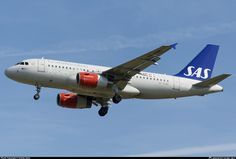 OY-KBR SAS Scandinavian Airlines Airbus A319-131