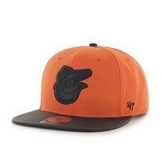 2a8beeae Baltimore Orioles Delancey Captain Orange 47 Brand Adjustable Hat Baltimore  Orioles Hat, Detroit Game,