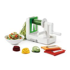 This just arrived our store now: OXO Good Grips 3-.... Check it out Now! http://www.yogamarkets.com/products/oxo-good-grips-3-blade-spiralizer-with-stronghold-suction?utm_campaign=social_autopilot&utm_source=pin&utm_medium=pin
