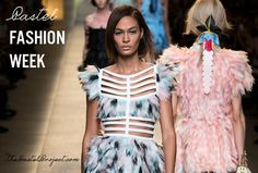 Sweet Pastel Inspiration #fashionweek | The Pastel Project